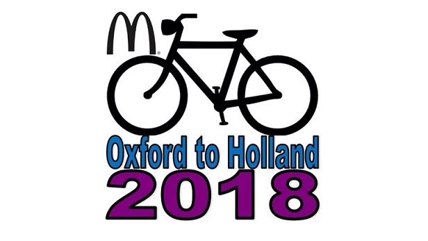 RMH Oxford to Holland – Charity Bike Ride 2018 new